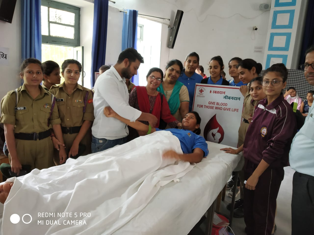 NCC Student Blood Donation 2-Oct-2019